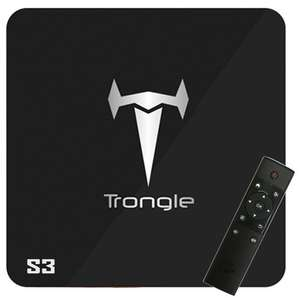 Amazon lightning Deal - S3 2G/16G Android 6.0 TV Box CPU Amlogic S905X Fully Loaded Add-ons Dual Band WIFI 2.4GHz/5GHz - £39.19 Sold by SEGURO and Fulfilled by Amazon