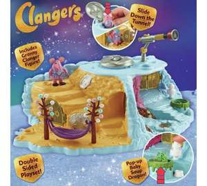 Clangers home planet playset with Granny clanger figure & pop up soup dragon was £24.99 now £12.49 @ Argos