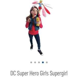 DC Superheroes Supergirl launcher £6.66 at Tesco