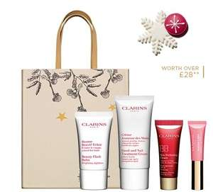 Clarins Free Gift on orders over £60+