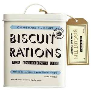 Home Front Biscuit Tin £6.50 @ Tesco Direct Free C&C