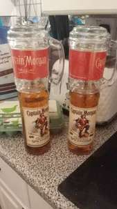 Captain Morgans Spiced Rum. 2 x 70cl bottles with glasses for £20 at Tesco - Bridgend