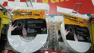 2 x 4.5 meter Draught excluder tape - £1 @ Poundland