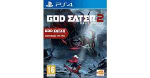 God eater 2 Rage burst (ps4) includes God eater resurrection £23.75 @ the game collection