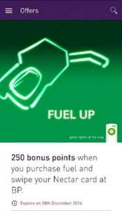 250 Nectar Points When You Fill Up At BP