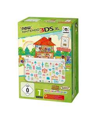 New Nintendo 3DS XL + Animal Crossing: Happy Home Designer  £154.44  amazon.de
