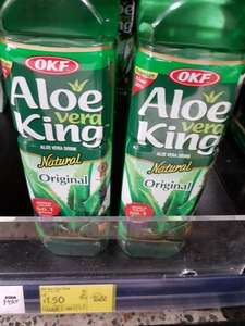 OKF Aloe Vera King Original 1500ml 1.50£  ASDA