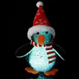 Colour Changing LED Penguin EVA £1.49 each or 3 for £4 @ B&M