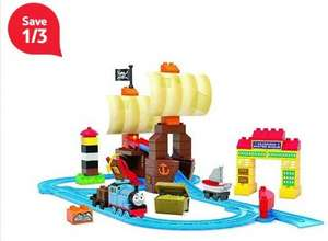 Mega Bloks Thomas & Friends Hidden Treasure Advenure £12.52 @ Tesco Direct FREE C&C