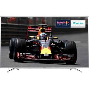 "Hisense H55M7000 55"" Smart 4K Ultra HD with HDR TV - Silver (£649.00 with code) @ AO.com"