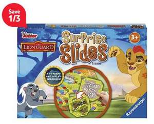 Disney the Lion Guard Surprise Slides Game £4.62 @ Tesco Online FREE C&C