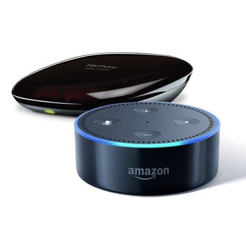 Amazon Dot and Logitech Harmony Hub Bundle for £114.99 @ Amazon