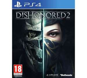 Dishonoured 2 for ps4 £26.99 @ Argos Also same price on xbox1