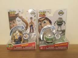 NEW Disney Toy Story Hatch 'n Heroes - Woody & Buzz Lightyear Figure £1 each @ pound land instore