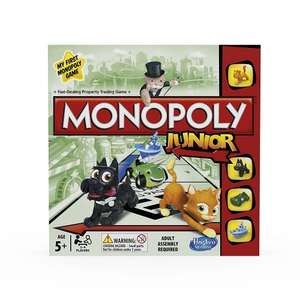 Monopoly Junior Board Game - (Free delivery with Prime or add £4.75) - £6.26