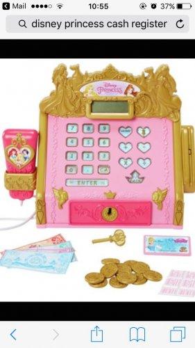 Disney Princess Cash Register £16.59 Argos