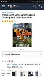 Walking with dinosaurs 3d movie dinotopia book poundland - £1