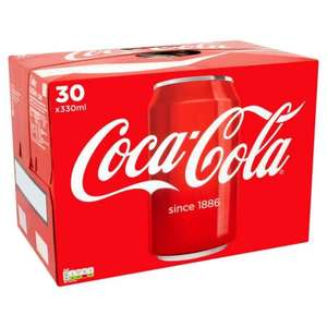 30 X 330ml Coke/ Diet Coke/ Coke Zero @ Costco - £5.98 (Incl. VAT)