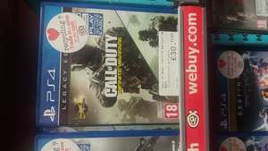 Call of duty infinite warfare Legacy edition  £30 @ CEX instore (No DLC)