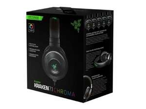 Razer: Kraken 7.1 Chroma - Surround Sound Gaming Headset  (Back in stock) Gamestop 59.97