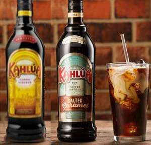 Kahlua Coffee Liqueur & NEW Kahlua Salted Caramel Liqueur - 2 for £20 @ Tesco (works out £10 a bottle instead of £15 each - or mix with all 2 for £20)