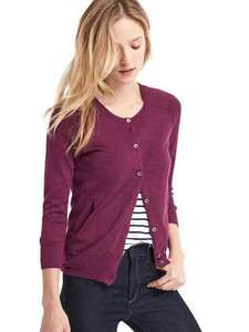 Merino wool cardigan was £44.95 now £15.99 Gap in store