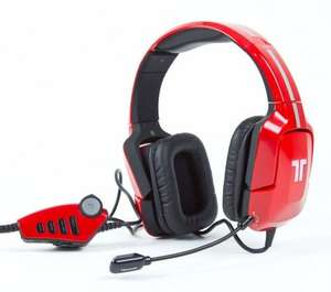 *REFURB*TRITTON PRO+ 5.1 PS4 PS3 XBOX ONE/360 PC HEADSET RED/BLACK £27.95 @ velocityelectronics/eBay