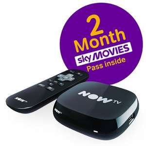 Now TV Box With 2 Months Movies or 3 Months Entertainment £10.85 Delivered @ Shopto