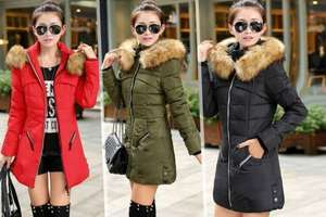 Faux fur Hooded Puffer Parka Jacket £15.99 @ GoGroopie was £79.99. £3.99 home delivery