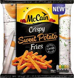 McCain Crispy Sweet Potato Fries (500g) was £2.50 now £1.50 @ Iceland