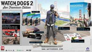Watchdogs 2 collectors edition ONLINE STOCK £30.00 @ Game