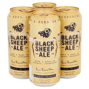 Black Sheep Ale 4x440ml £2.49 @ Home Bargains Instore