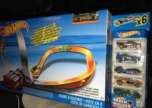 HotWheels figure 8 raceway with 6 cars only £11.53 @ Tesco Instore Clearance was **£34.99** (OFS online)
