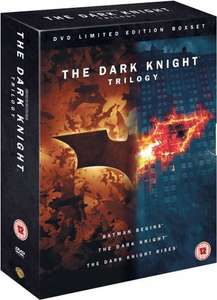 The Dark Knight Trilogy (DVD Boxset with Art & Making of book) £7.99 ebay/Entertainment Store