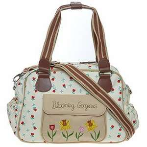 Pink Lining Cream Floral Changing Bag £29.99 @TKMAXX