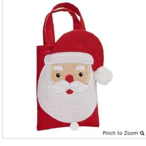 Selected Wilko Christmas decorations and gift bags half price.