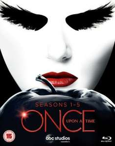 Once Upon a Time: Seasons 1-5 (Box Set) [Blu-ray] £37.16 W/Code @Zoom
