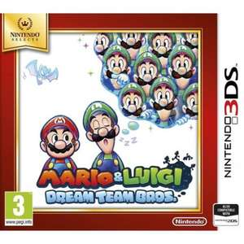 Mario and Luigi: Dream Team Bros (3DS) £9.99 Delivered @ TheGameCollection