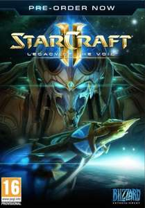 Starcraft II 2: Legacy of the Void £13.49 @ cdkeys.com (10% Discount Using Code)