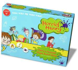 Horrid Henry board game £6.99, was £12.99 in argos. Free home delivery or click or collect. Age 4+