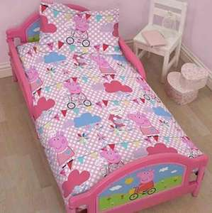 Peppa Pig Toddler Bed £45 @ tesco direct free c&c delivery (also DC Superfriends and Paw Patrol)