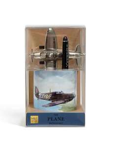 Spitfire Pen Pot & Paperweight gift set M&S half price £6.25
