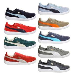 Puma suede (Dallas) trainers £24.99 delivered @ Office eBay outlet +3% TCB cashback