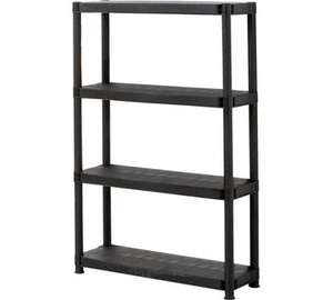 4 Tier Shelving Unit - £6.74 (with code) - Argos