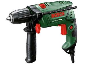 Bosch PSB500 Hammer Drill - 500W ~ £26.99 (using code) @ Argos