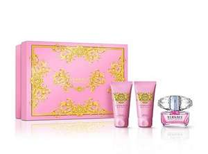 Versace 'Bright Crystal' eau de toilette 50ml Christmas gift set @ Debenhams for only £25 free (C&C)