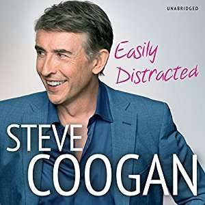 "Steve Coogan ""Easily Distracted"" Audible Audiobook was £17.49 now 99p!"