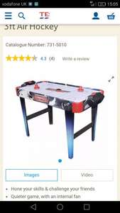 3FT Air Hockey Table - £18 @ Tesco Direct
