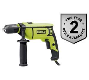 Guild 750W Keyless Corded Hammer Drill £14.93 @ Argos (USE CODE VCDIY10)