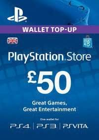 Playstation store wallet top up £50 - £45.99 @ CDKeys